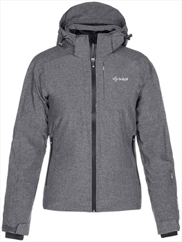 Kilpi Maania Alpine Sport Women's Snowboard/Ski Jacket UK 14 Dark Grey
