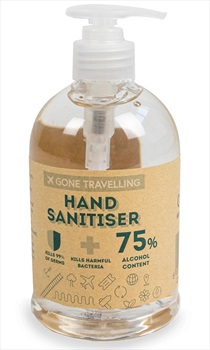 Antibacterial Hand Sanitiser Gel Disinfectant Travel Protection, 500ml