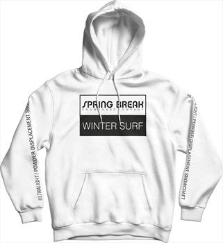 Capita Spring Break Ultra Pullover Hoodie, XL White