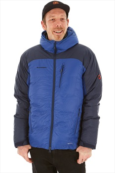 Mammut Ambler Hooded Men's Insulated Down Jacket, M Ultramarine Marine