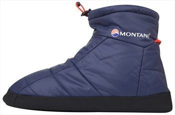 Montane Prism Bootie Insulated Camping Slippers, XS Antarctic Blue