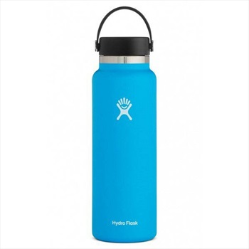 Hydro Flask 40oz Wide Mouth With Flex Cap 2.0 Water Bottle, Pacific