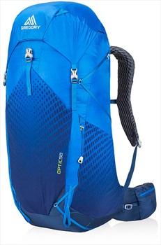 Gregory Optic 58L Large Ultralight Trekking Backpack, Beacon Blue