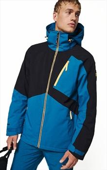 O'Neill Aplite Insulated Ski/Snowboard Jacket, S Seaport Blue