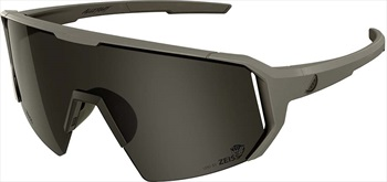 Melon Adult Unisex Alleycat Smoke Performace Sunglasses, M/L Grey/Black