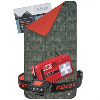 Absolute Emergency Winter Car Survival Kit | Gift Package: Camo