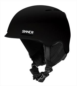 Sinner Fortune Ski/Snowboard Helmet XL Matte Black