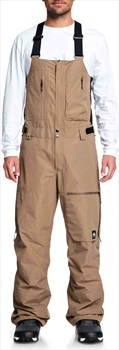 Quiksilver Altostratus 2L Gore Tex Ski/Snowboard Bib Pants, S Otter