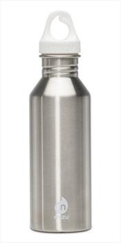 Mizu Adult Unisex M5 Stainless Steel Water Bottle, 530ml Silver/White