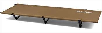 Helinox Cot One Convertible Lightweight Compact Camp Bed, Coyote Tan
