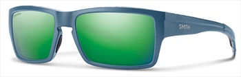 Smith Outlier XL Sun Green Mirror Sunglasses, Matte Corsair Ripped