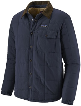 Patagonia Isthmus Quilted Insulated Shirt Jacket, L New Navy