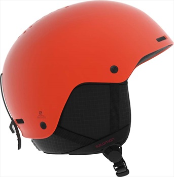 Salomon Brigade Snowboard/Ski Helmet, L Orange Pop