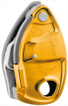 Petzl GriGri + Plus Rock Climbing Belay Device, Orange