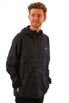 Planks Radorak Packable Ski/Snowboard Anorak, S Black