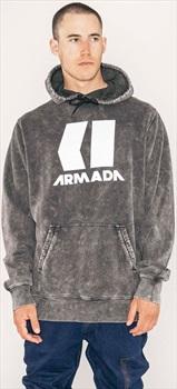 Armada Icon Snowboard/Ski Hoodie M Black Enzyme