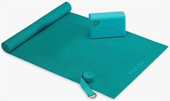 Myga Back To Basics Yoga Starter Kit, Turquoise