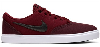 Nike SB Womens Check Solar Canvas, UK 6 Night Maroon/ White