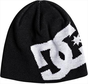 DC Big Star Ski/Snowboard Beanie Hat, One Size Black