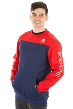 Sessions Roster Ski/Snowboard Technical Pullover M Deep Red