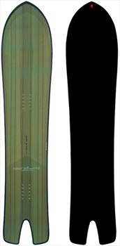 Gentemstick Spoon Fish Hybrid Camber Snowboard, 141cm 2020