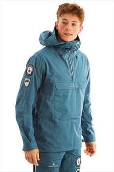 Amundsen Peak Anorak Ski/Snowboard Jacket, L Faded Blue