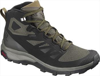 Salomon OUTline Mid GTX Men's Hiking Boots, UK 9.5 Black/Beluga
