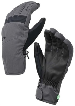 Oakley Roundhouse Short Ski/Snowboard Gloves L Forged Iron