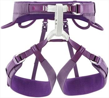 Petzl Luna Women's Climbing Harness, XS Violet