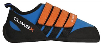 Climb X Kinder Velcro Kid's Rock Climbing Shoe UK Kids 10-10.5 Blue