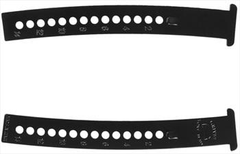 Grivel Valter Extension Bar Long Crampon Accessory Rail, Black