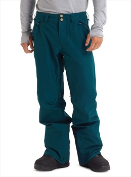 Burton Gore-Tex Vent Snowboard/Ski Pants, S Deep Teal