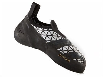 Butora Sensa Rock Climbing Shoe: UK 5 | EU 38, Black & White