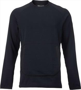 Burton [ak] Piston Crew Thermal Fleece Pullover, XS True Black