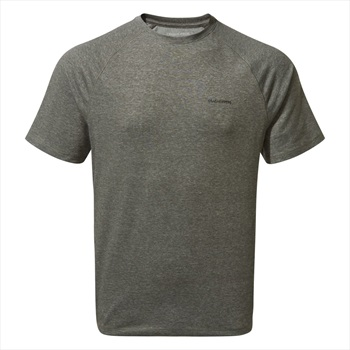 Craghoppers NosiLife Anello II Short Sleeve T-shirt, L Black Pepper