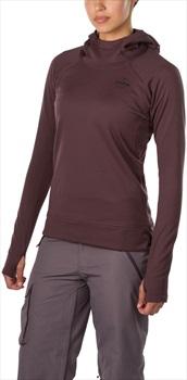 Dakine Callahan Long Sleeve Women's Hooded Fleece Top, S Amethyst