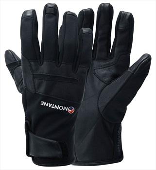 Montane Cyclone Softshell Gloves, M Black