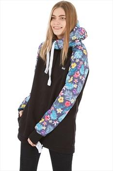 bro! Chill N'shred Unisex Ski/Snowboard Hoodie, XS Floral 2