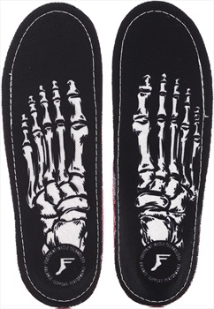 Footprint Skeleton King Foam Orthotic Insoles UK 8-8.5 Black