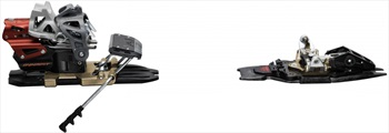 Dynafit Beast 14 Ski Bindings, 120mm, Black/Grey/Red