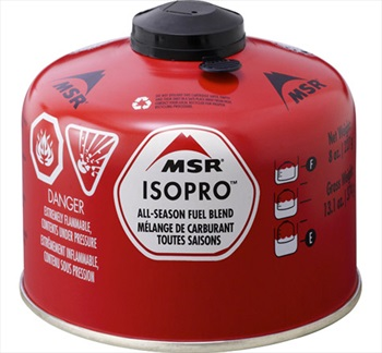 MSR IsoPro Camp Stove Fuel Canister, 227g Red *Collection Only*