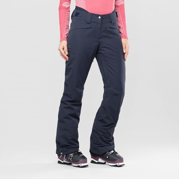 Salomon QST Women's Ski/Snowboard Pants, M Night Sky