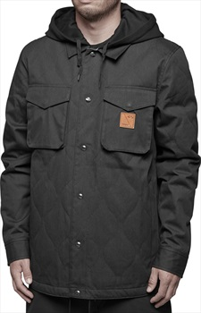 thirtytwo Myder Hooded Snowboard/Ski Jacket, S Black