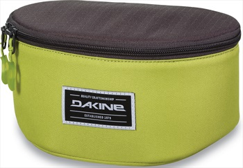 Dakine Stash Goggle Case Bag, Dark Citron