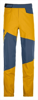 Ortovox Vajolet Pants Regular Men's Climbing Trousers, L Yellowstone