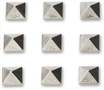 Dakine Pyramid Stud Snowboard Stomp Pad Traction Mat, Chrome