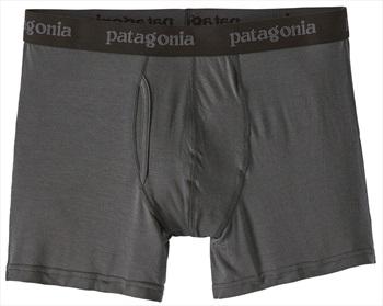 "Patagonia Mens Essential Boxer Briefs 3"" Underwear, S Forge Grey 2020"