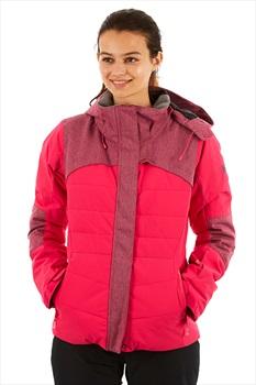 Roxy Dakota Women's Snowboard/Ski Jacket, M Beetroot Pink