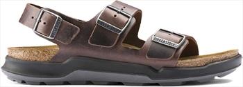 Birkenstock Adult Unisex Milano Ct Oiled Leather Sandal, Uk 7.5 Habana