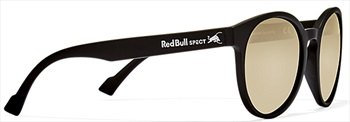 Red Bull Spect Lace Gold Flash Polarised Sunglasses, Matt Black